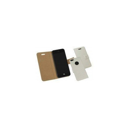 Funda Piel iPhone 5  ( Blanca )