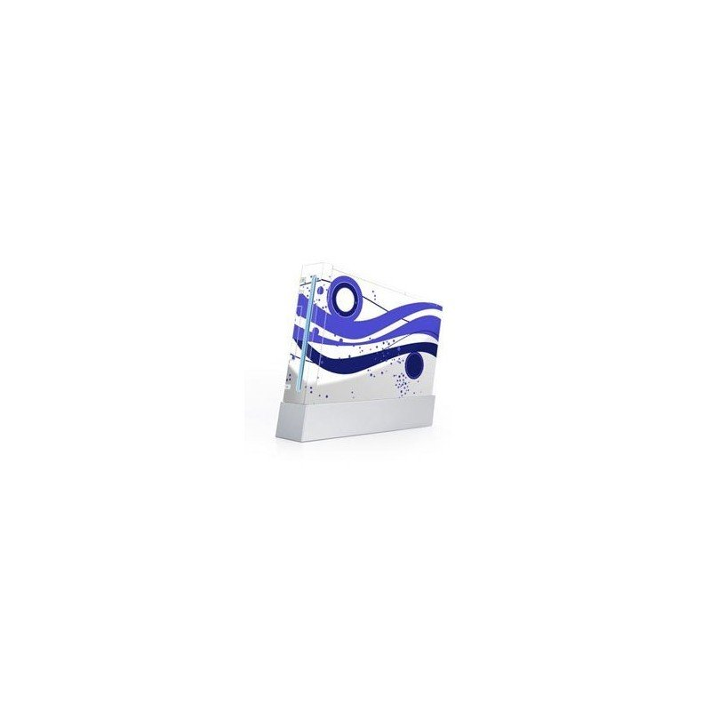 fashion blue skin Wii