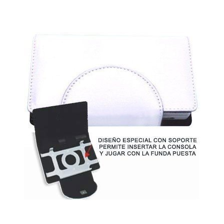 Funda Compact Pocket + Stand DSi ( Blanca )