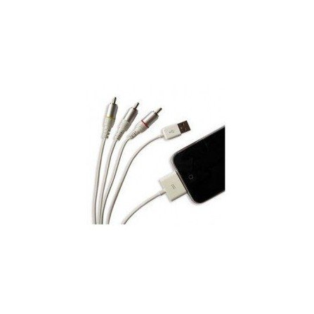 Cable AV + USB para  iPhone / iPod