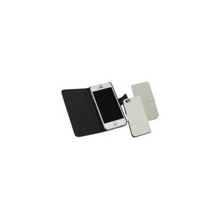 Funda Piel con Trajetero iPhone 5  ( Blanca )