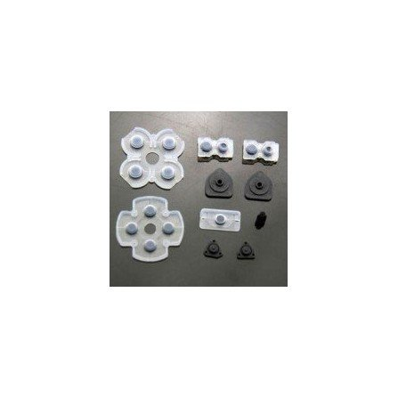 Set de gomas para botones DualShock 4 PS4 V1 (10 piezas)