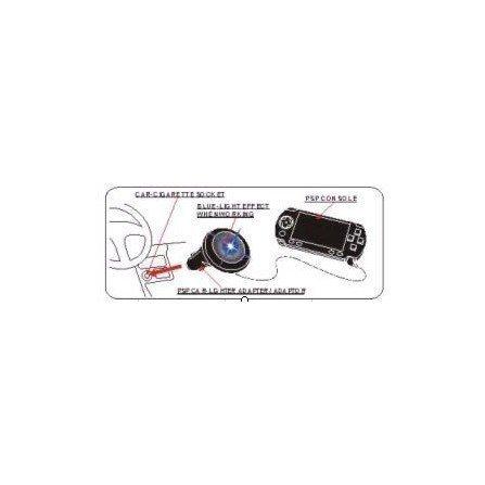 Cargador de coche PSP 1000 / 2000 / 3000