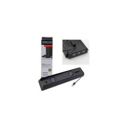 Ventilador con soporte multi USB PS4 Ventilador con soporte multi USB PS4