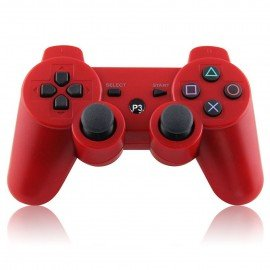 Mando inalámbrico PS3 - Rojo