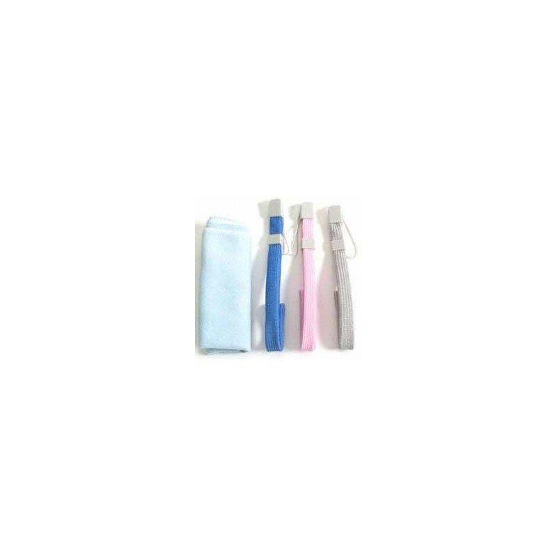 Set Correas de mano + Gamuza limpiadora Wii