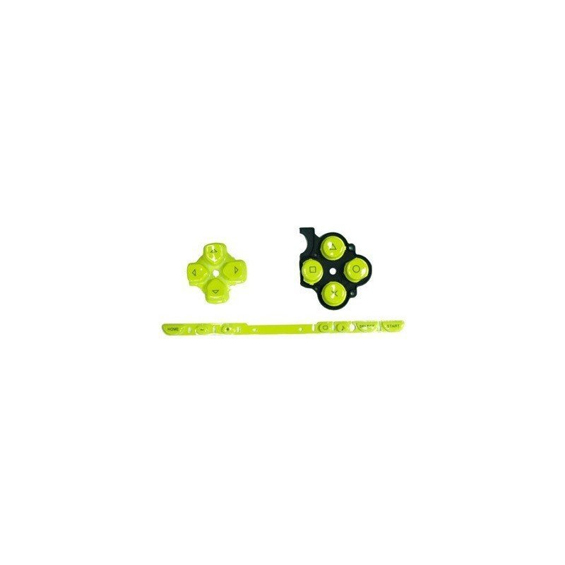 Kit Botones PSP 2000 ( Amarillo )