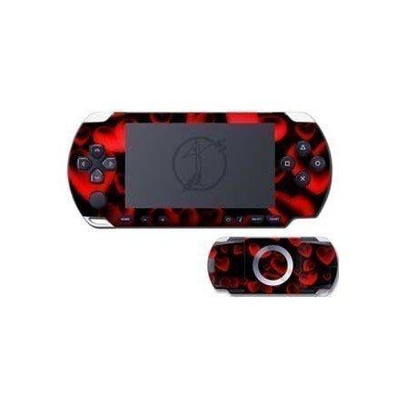 Corazones rojos skin PSP