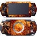 Dragon de fuego skin PSP