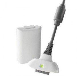 Cable Carga y Juega + bateria 4800mah XBOX360