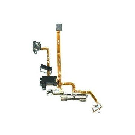 Cable Flex Conector Auriculares + Volumen + Apagado + Hold + Vibrador  iPhone 2G