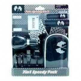 Pack Accesorios PlayerGame PSP Go  7 en 1 ( Speedy Racing )