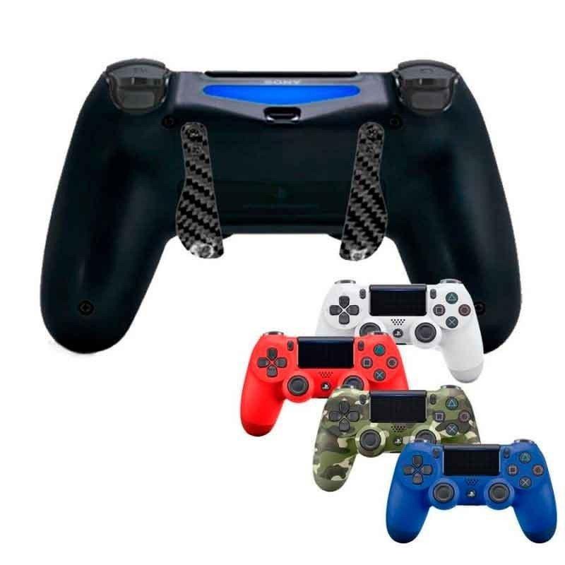 Mando PS4 Competitivo + Palancas scuf CARBONO