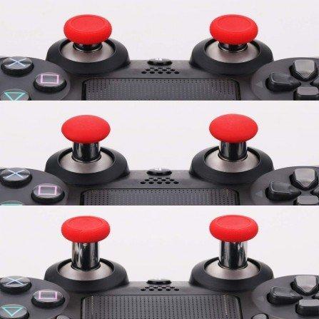 Kit Joysticks intercambiables de ALUMINIO PS4 - ROJOS