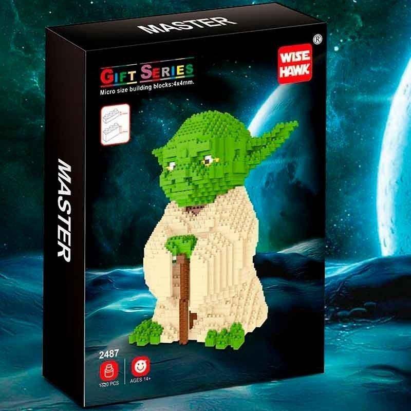 Figura de Mini bloques GIGANTE - Star Wars YODA