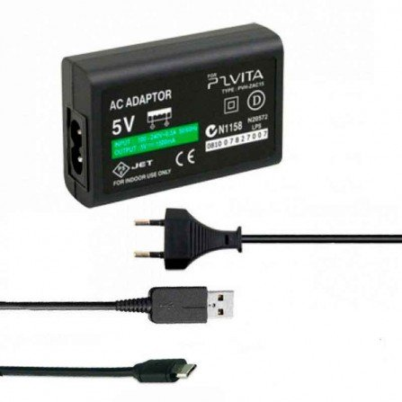 Cargador + Cable USB PS VITA 2000