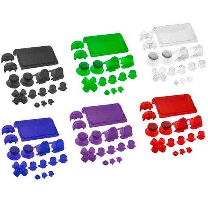 Botones mando DualShock 4 PS4 - CRISTAL (V4)