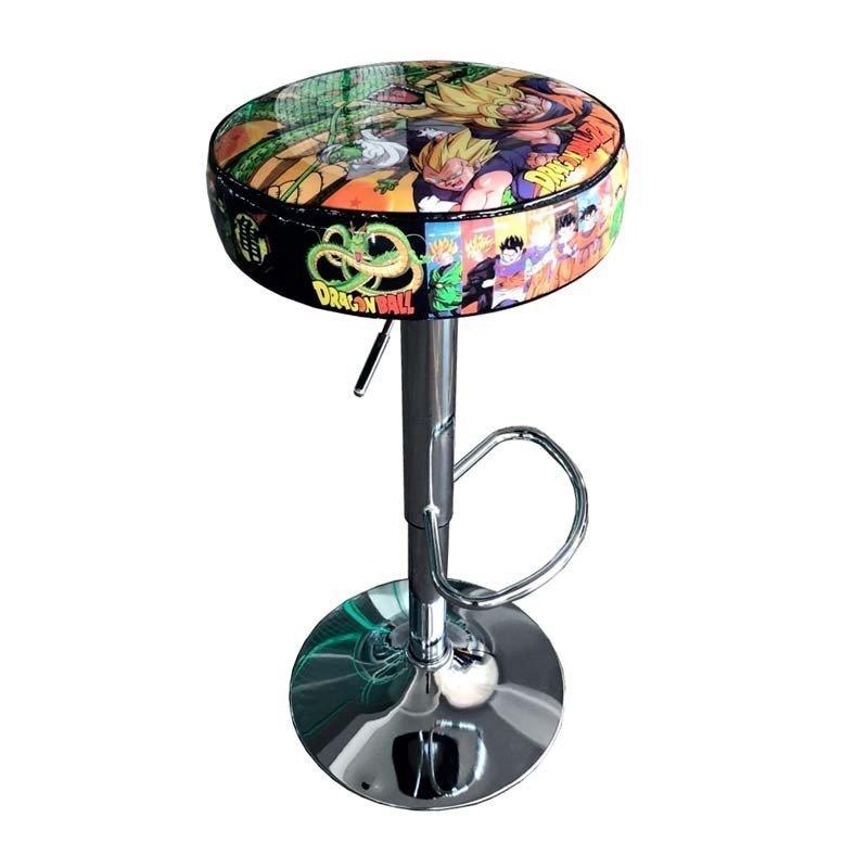 taburete maquina recreativa arcade dragon ball z DBZ