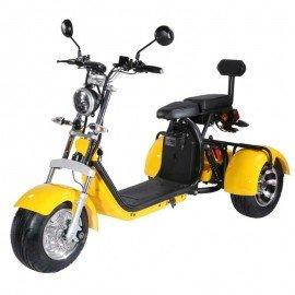 Moto eléctrica CITYCOCO Triciclo Matriculable / Doble batería