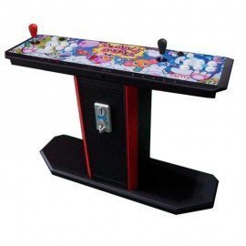 Maquina recreativa pedestal y monedero Pandora BOX DX - 3000 Juegos - Bubble Bobble