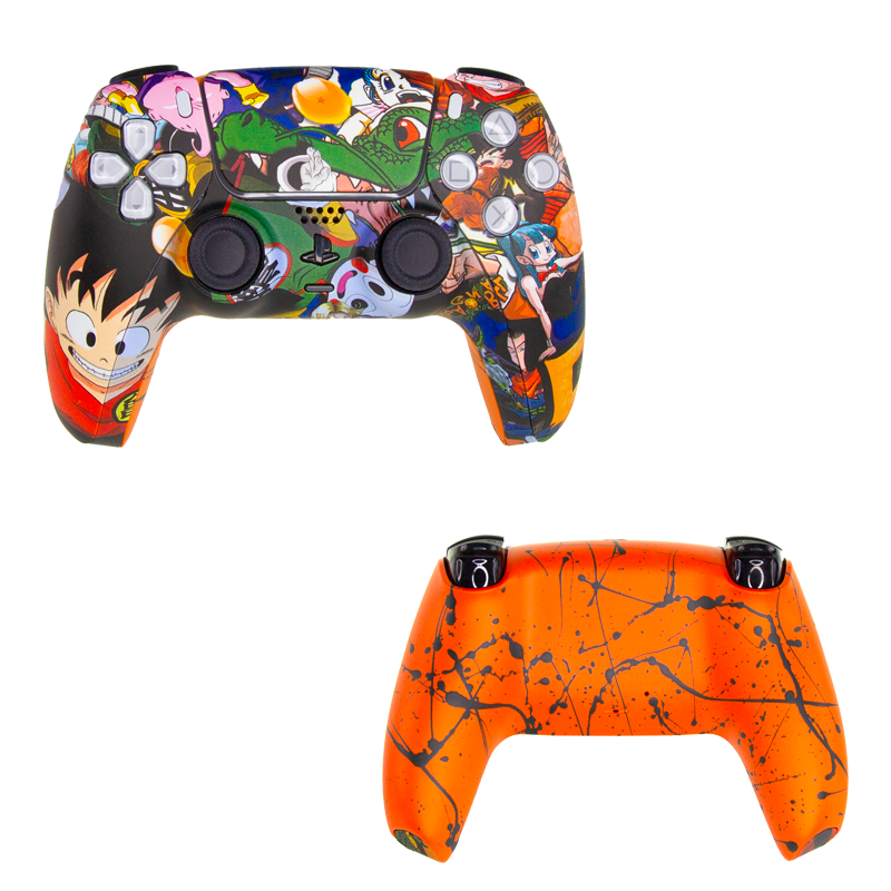 Mando PS5 personalizado dragon ball z