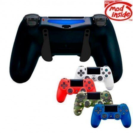 Mando PS4 Competitivo Rapid fire + Palancas scuf TWISTER