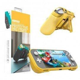 Funda protectora Nintendo Switch LITE Multi Función - Amarillo
