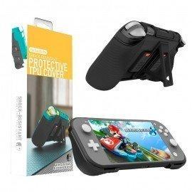Funda protectora Nintendo Switch LITE Multi Función - Negra