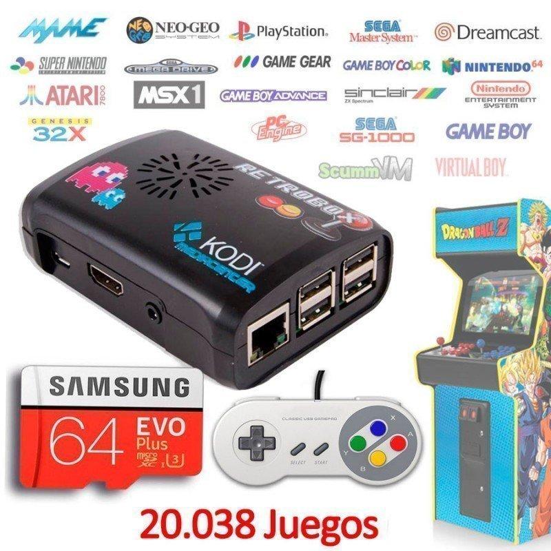Consola Retrobox SNES Super Nintendo MINI, emuladores arcade
