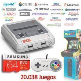 Consola Emuladores Arcade RETROBOX - 64Gb