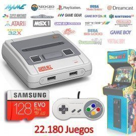 Consola Emuladores Arcade RETROBOX - 128Gb