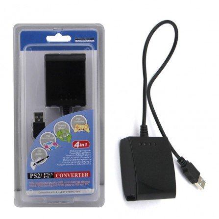 SUPER BOX 4 Advance USB - Convertidor mandos PS2 a PC