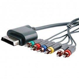 Cable por componentes + salida audio optica XBOX360