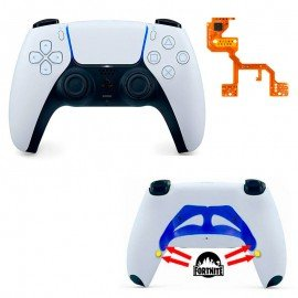 Mando PS5 Competitivo Chip Fortnite PRO + Palanca y botones