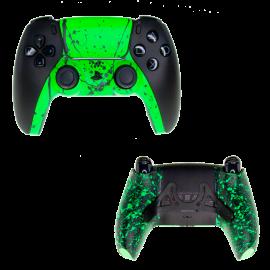 Mando PS5 Scuf Negro Palancas Fusion MegaGrip - Verde Fluor
