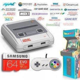 Consola Emuladores Arcade RETROBOX - 64Gb