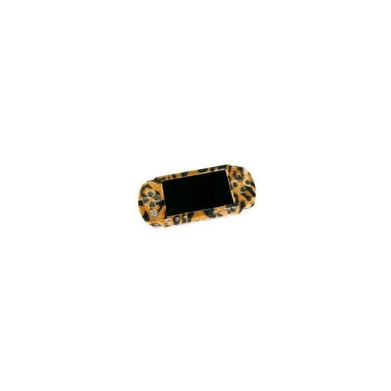 Carcasa superior PSP 1000 Piel de leopardo
