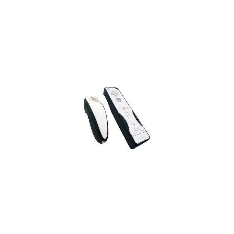 Protectores Silicona para mandos Wii *Negro/Blanco*