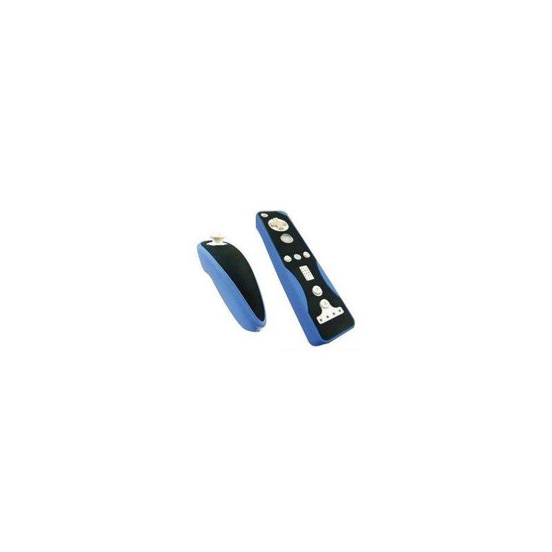 Protectores Silicona para mandos Wii *Azul/Negro*