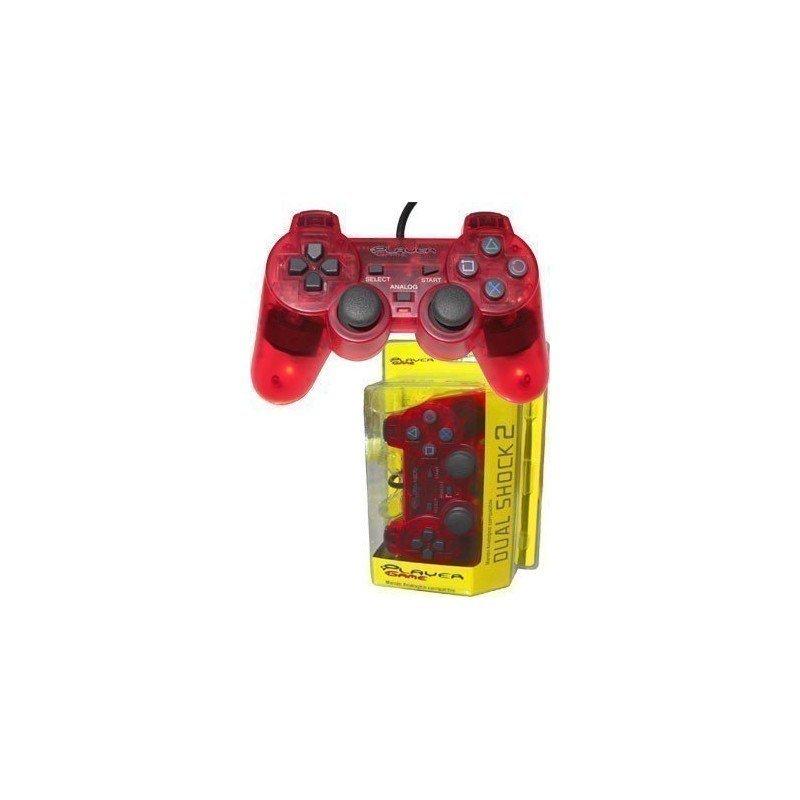 Mando PLAYERGAME PS2 *Rojo*