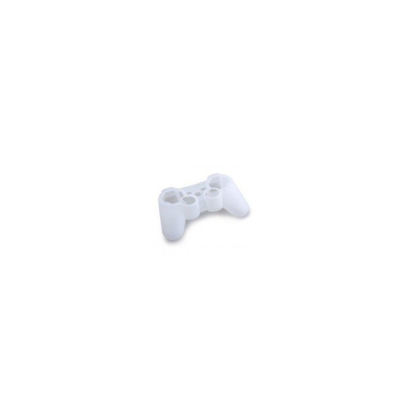 Protector silicona mandos  PS3 - TRANSPARENTE -