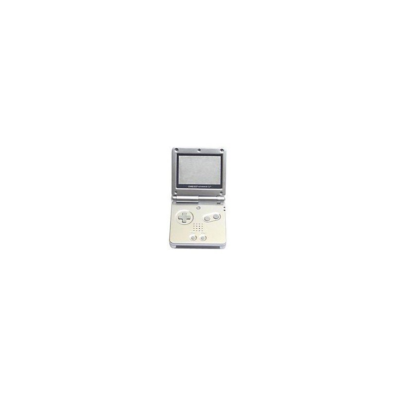 Carcasa GameBoy Advance SP - Plata -