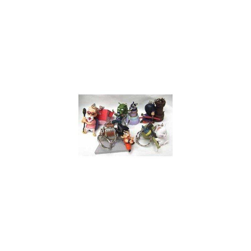Pack Nº 3 Llaveros DBZ (5 unidades x 2 muñecos)