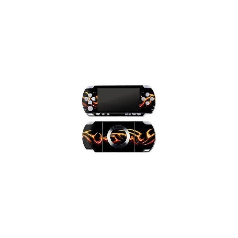 Tribal Naranja Skin PSP 2000/3000
