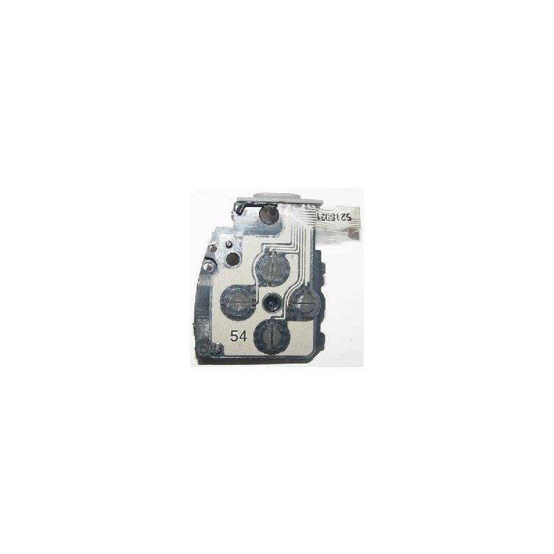 Base plastico + faja botones izquierda PSP 1000
