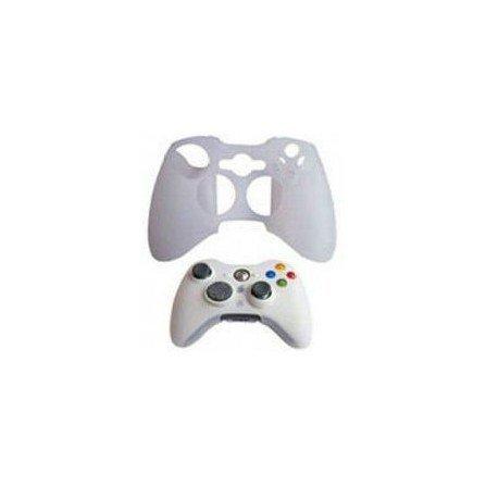 Protector de silicona mando XBOX360 - BLANCO