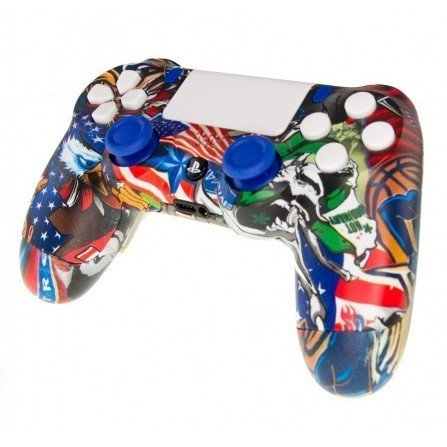 Mando PS4 Personalizado - USA LOVER