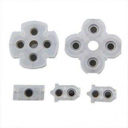 Set de gomas para botones DualShock 4 PS4 V4 (5 piezas)
