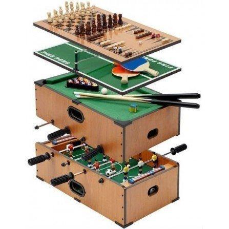 Mesa de juegos Billar - Futbolin - Ping Pong - Ajedrez.. ( 7 en 1 )