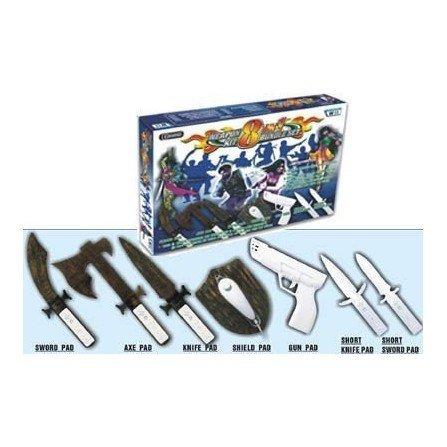 Kit EXTREME Combat Pack Wii ( 8 en 1 )